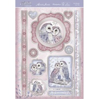Hunkydory A4 Topper Set Festive Elegance Owl Always Love You