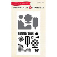 Echo Park Die & Stamp Combo Summer Days