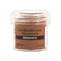 Ranger Embossing Powder Brown