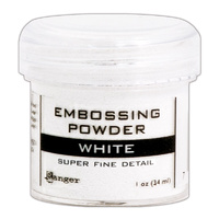 Ranger Embossing Powder Super Fine White