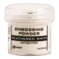 Ranger Embossing Powder Weathered White
