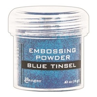 Ranger Embossing Powder Blue Tinsel