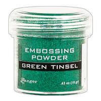 Ranger Embossing Powder Green Tinsel