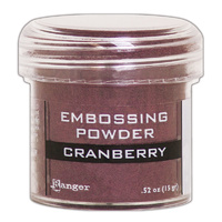 Ranger Embossing Powder Cranberry
