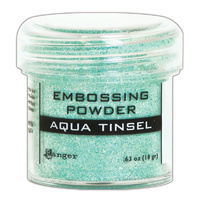 Ranger Embossing Powder Aqua Tinsel
