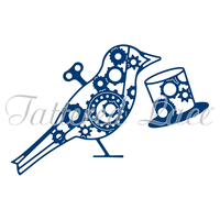 Tattered Lace Die Steampunk Bird