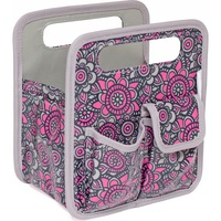 Everything Mary Desktop Tote Gray / Pink