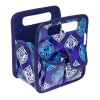 Everything Mary Desktop Tote Blue / Quatre