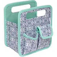 Everything Mary Desktop Tote Grey / Mint