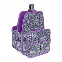 Everything Mary Large Deluxe Caddy Grey / Purple