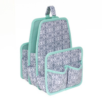 Everything Mary Large Deluxe Caddy Grey / Mint