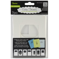 Darice Easy Frames for A2 Embossing Folders 7pc