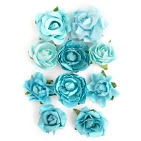 Kaisercraft Paper Blooms Sea Breeze