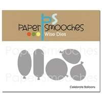Paper Smooches Die Celebrate Balloons