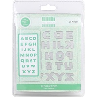 First Edition Die Alphabet 26pc