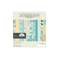 "Authentique 6x6"" Double Sided Cardstock Pad Felicity 24pg"