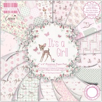 "First Edition 6x6"" Premium Paper Pad It's a Girl 64pg"