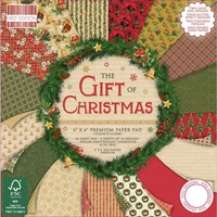 "First Edition 6x6"" Premium Paper Pad The Gift of Christmas"
