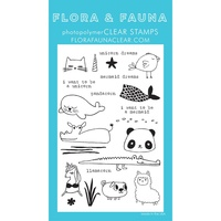 Flora & Fauna Clear Stamp Mermaid Animals
