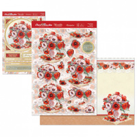 Hunkydory Floral Favourites Designer Deco Large Set Picturesque Poppies
