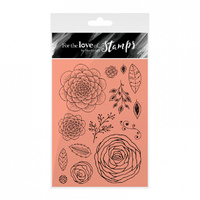 Hunkydory Stamp A6 For the Love of Floribunda
