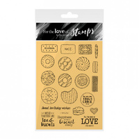 Hunkydory Stamp A6 For the Love of Biscuits Galore