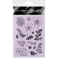 Hunkydory Stamp A6 For the Love of Fancy Florals