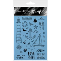Hunkydory Stamp A6 For the Love of Ahoy Matey