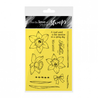 Hunkydory Stamp A6 For the Love of Daffodils in the Sun