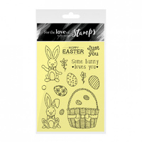 Hunkydory Stamp A6 For the Love of Hoppy Easter