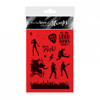 Hunkydory For The Love of Stamps You Rock! Set