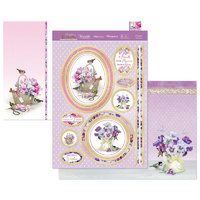 Hunkydory Garden Treasures Luxury Topper Set Arranged with Love