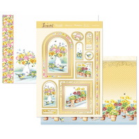 Hunkydory Garden Treasures Luxury Topper Set Love Blossoms