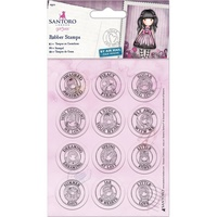 Santoro's Gorjuss Mini Stamp Set 12pc