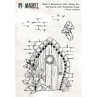 49 and Market Clear Stamp Gabi's Whimsical Door