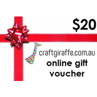 $20 Craft Giraffe Gift Voucher