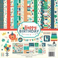 "Echo Park Happy BIrthday Boy 12x12"" Collection Kit"