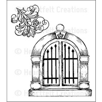 Heartfelt Creations Stamp Set Palace Entry