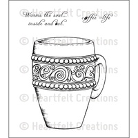 Heartfelt Creations Stamp Set Coffee Mug