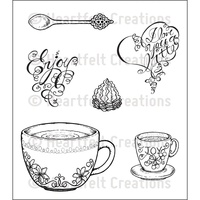 Heartfelt Creations Stamp Seet Coffee Talk