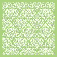 "Kaisercraft 6x6"" Designer Template Ornate Damask"