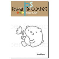 Paper Smooches Die Kind Bear