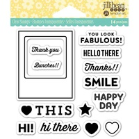 Jillibean Soup Clear Stamps Fabulous