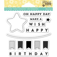 Jillibean Soup Clear Stamps Oh Happy Day