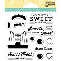 Jillibean Soup Clear Stamps Sweet Treat