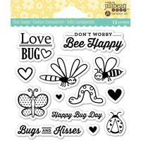 Jillibean Soup Clear Stamps Love Bug