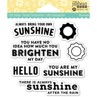 Jillibean Soup Clear Stamps My Sunshine