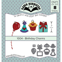 Karen Burniston Die Birthday Charms