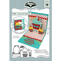 Karen Burniston Die Cupcake Pop Up Card