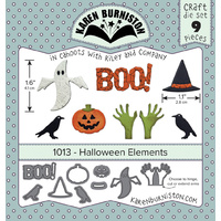 Karen Burniston Die Halloween Elements